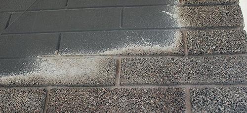 CMU Sandblasting